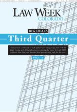 Big Deals Third Quarter