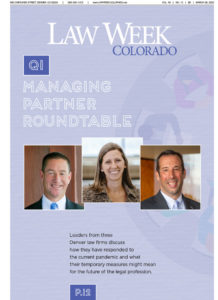 Q1 Managing Partner Roundtable