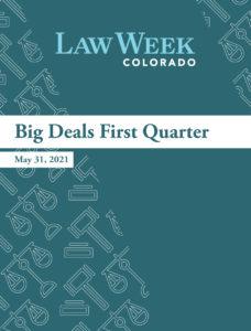 Big Deals First Quarter