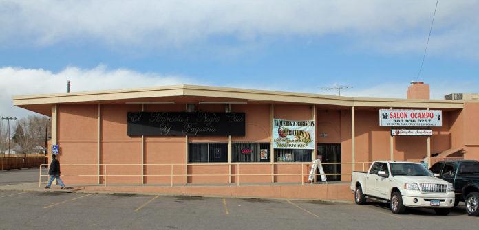 An exterior photo of Salon Ocampo