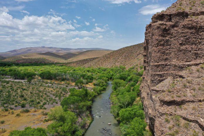 Gila River at Gila Box