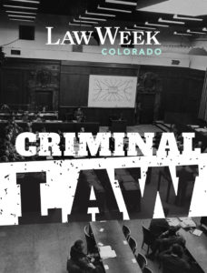 Criminal Law Cover