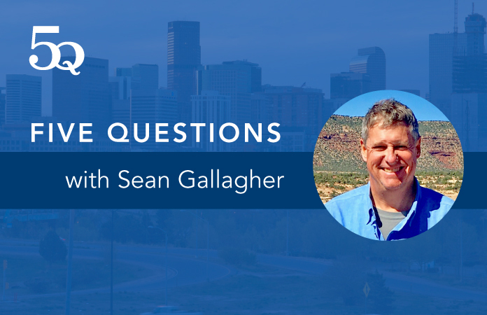 5 questions with Sean Gallagher