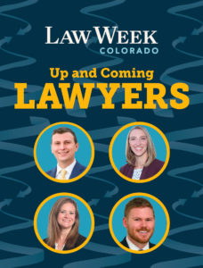 Up and Coming Lawyers Cover