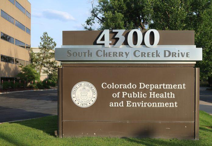 CDPHE building in Cherry Creek, Colorado.