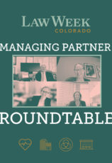 Managing Partner Roundtable Law Week Colorado Cover