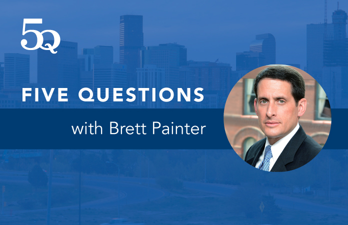 Five questions with Brett Painter.