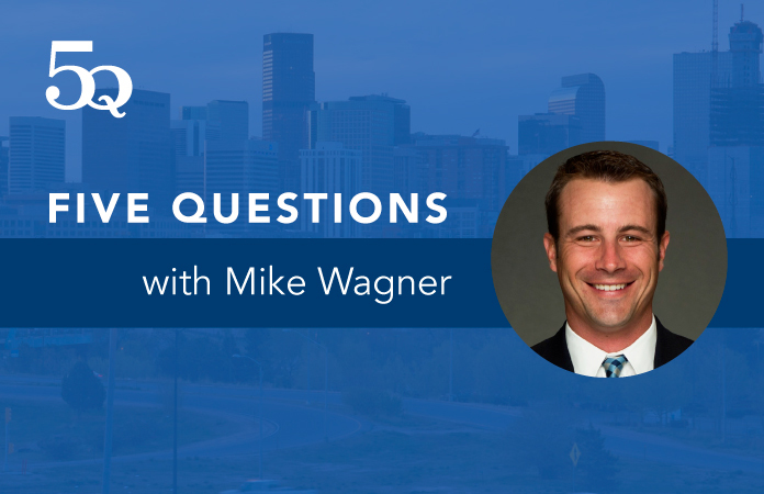 Five questions with Mike Wagner