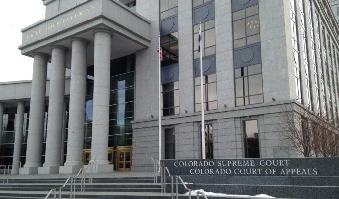 the Colorado Supreme Court building