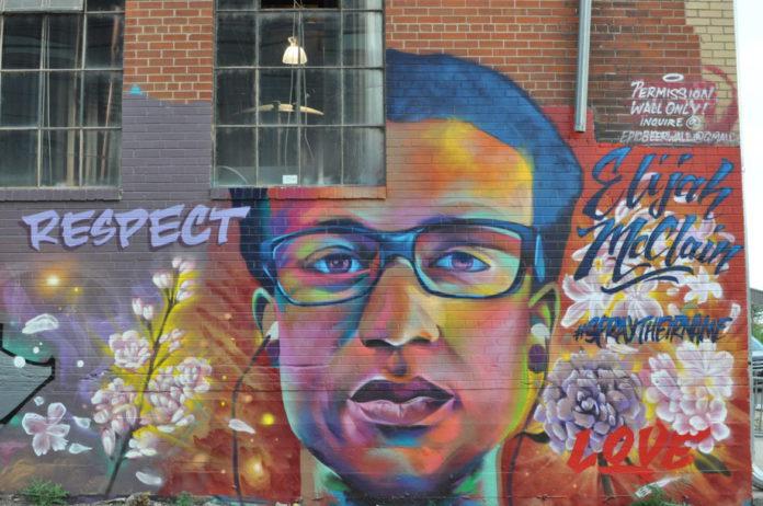 Elijah McClain mural in Denver